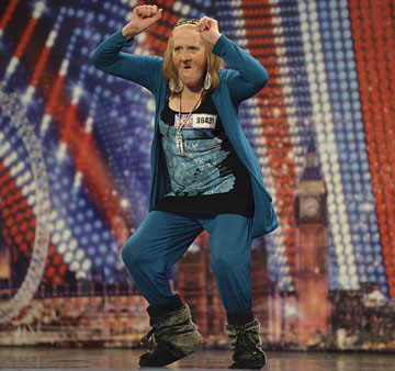 Primitive Cave Woman Found on Britain's Got Talent - Daily ...